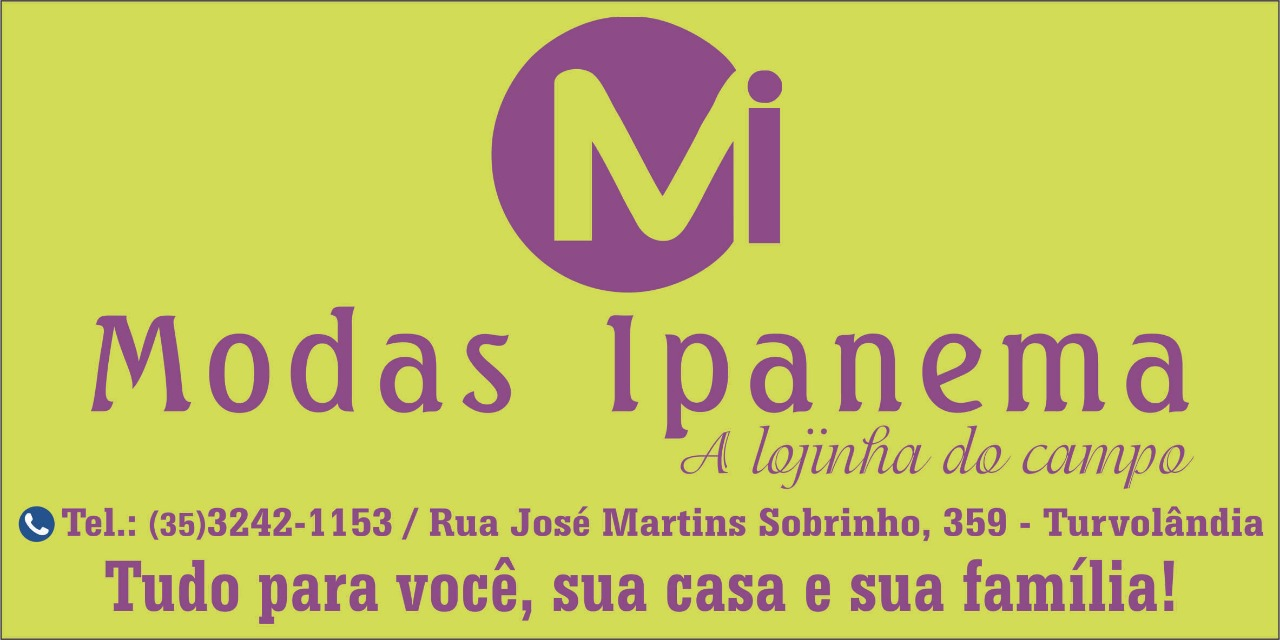 Modas Ipanema, a lojinha do campo